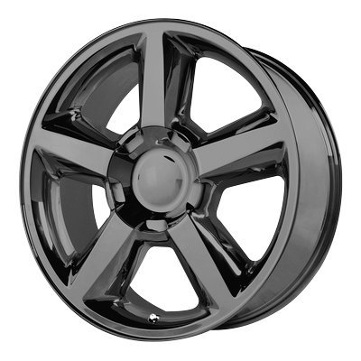 OE Creations | 131GB-2215831 | 22 Inch | Chevy Silverado 1500LTZ | PR131 Wheel/Rim | Black | 22x10 Inch | 6x5.5/6x139.70 | 31mm