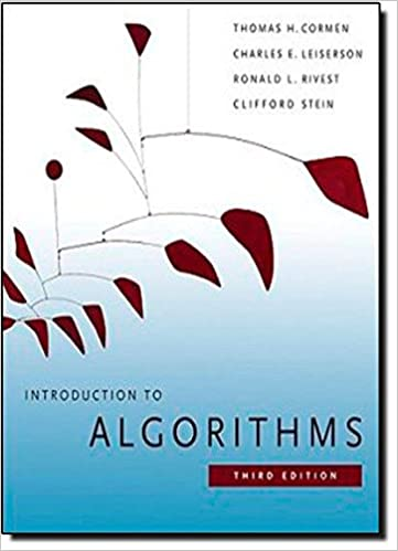 Introduction to Algorithms, 3rd Edition (MIT Press)