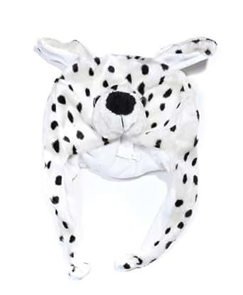 Plush Animal Winter Hat Spotted Cub