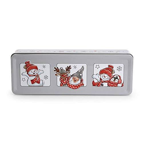 Altom Design - Caja de Metal para Galletas, diseño navideño ...