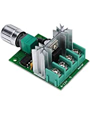 6V-12V DC Motor Speed Controller, 6A PWM Variable Speed Regulator Governor Switch,High Power Stepless Variable Speed Switch for DC Motor Speed Control