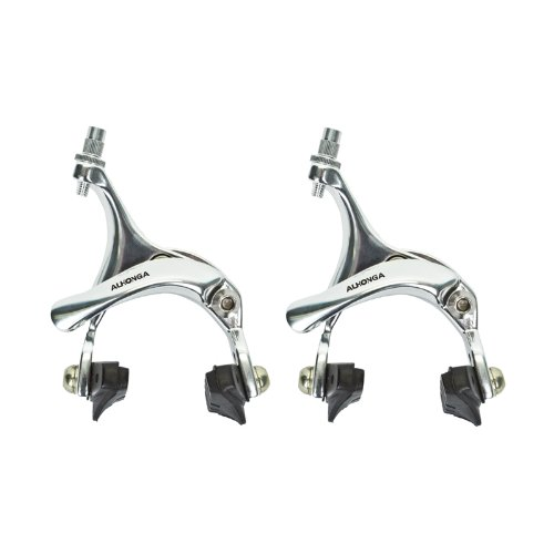 Sunlite Dual Pivot Brake Caliper, 39 - 49mm Reach, Silver