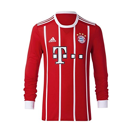 adidas FC Bayern Munich Home Long Sleeve Jersey [FCBTRU] - Gear Bayern Munich
