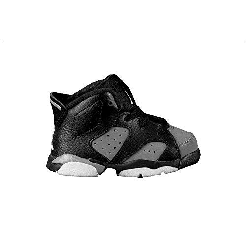 Nike Kids Air Jordan Retro 6 VI (TD) Black - White - Cool...