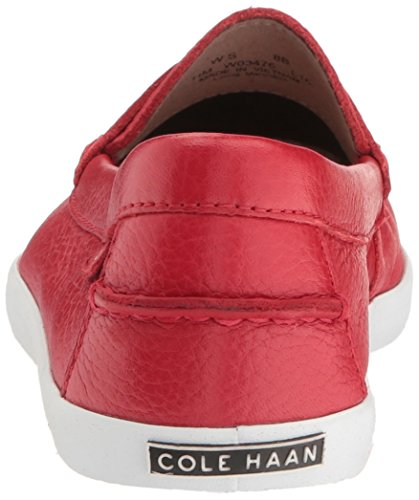 Cole Haan Womens Pinch Weekender Penny Loafer Chili Rosso
