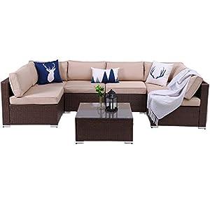 41-1XBQZRIL._SS300_ Wicker Patio Furniture Sets