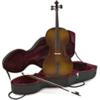 Student 3/4 Size Cello with Case Antique Fade by Gear4music