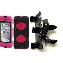 "SlipGrip 1.5"" Bike Holder For Apple iPod Touch 4th GEN Using Griffin Survivor Case"
