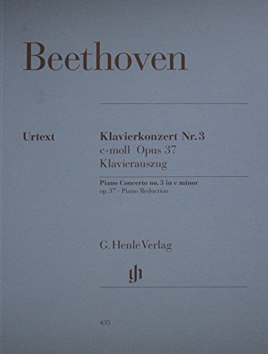 Concerto For Piano And Orchestra No 3 C Minor Op 37