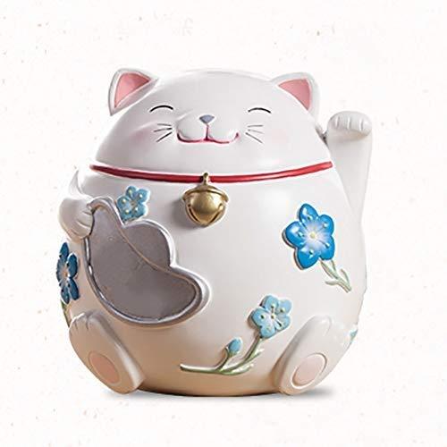 ZCcqg Linda Simple Moda Lucky Cat Adornos Moneda Cambio ...