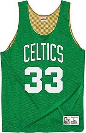 Mitchell & Ness Boston Celtics Larry Bird All Stars ...