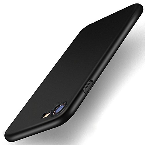 iPhone 7 Case, TORRAS Ultra Slim Fit Shell Hard Plastic Full Protective Anti-Scratch Resistant Cover Case for iPhone 7 -Space Black