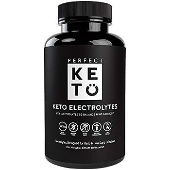 Amazon Com Perfect Keto Flu Electrolyte Supplement