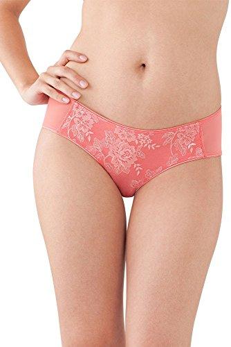Bravado Maternity Panties (Bravado Elegant Embrace Bikini Panty - L/XL - Coral Lace)