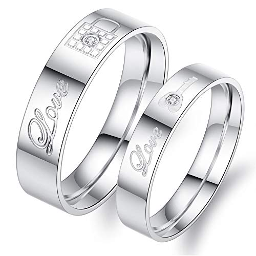 couple rings silver - 4