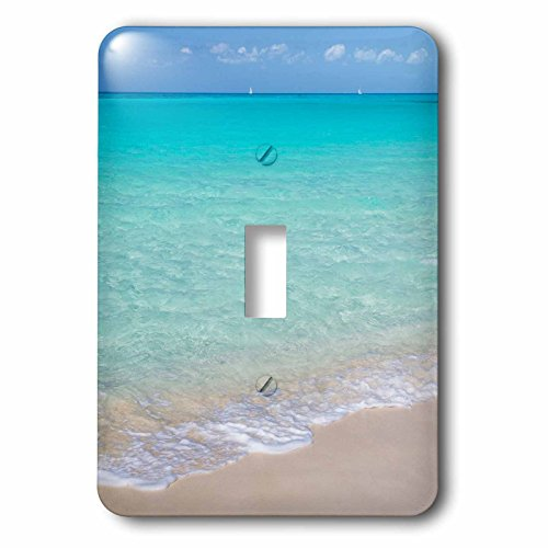 3dRose lsp_226509_1 Bahamas, Little Exuma Island. Ocean Surf and Beach Toggle Switch, Multicolor]()