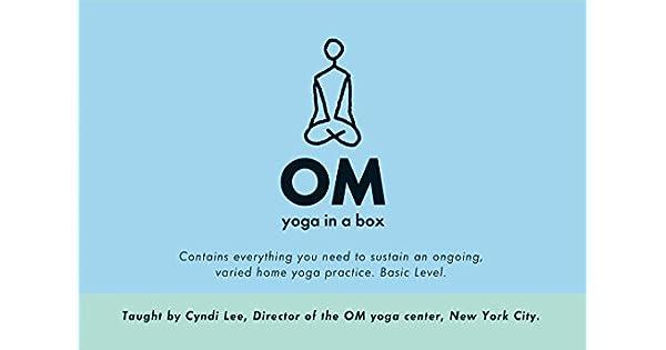 Amazon.com: OM Yoga in a Box (9781561709731): Cyndi Lee: Books