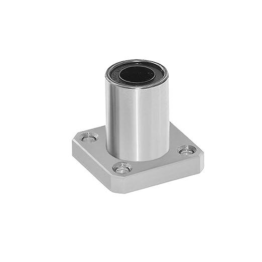 Hehilark LMK6UU DD: 6 mm, Cuadrado, Tipo Lineal, rodamientos Lisos ...