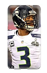 Awesome Seattleeahawks Flip Case With Fashion Design For Galaxy Note 3