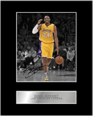 Kobe Bryant Print Signed Mounted Photo Display #01 Printed Autograph Picture Print