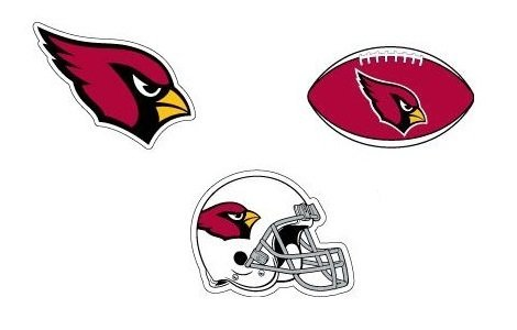 Arizona Cardinals Stickers and Banners ( 4 Count ) ...
