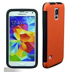 SHOUJIKE Slim Ultra Fit Smooth Black Premium Protection SF Coated Non-Slip Matte Hard Case for Samsung Galaxy S5 , Green