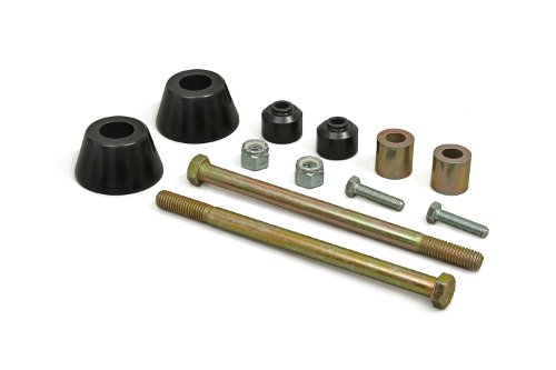 Daystar, Toyota Tacoma Polyurethane Differential Drop Kit, fits 1995.5 to 2004 2/4WD, KT01001BK, Made in America ()