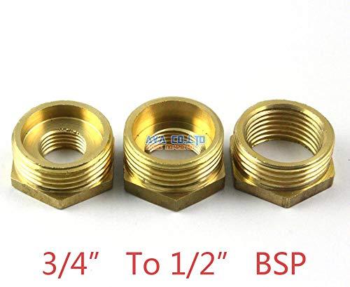 (Maslin 5 Pieces Brass 3/4