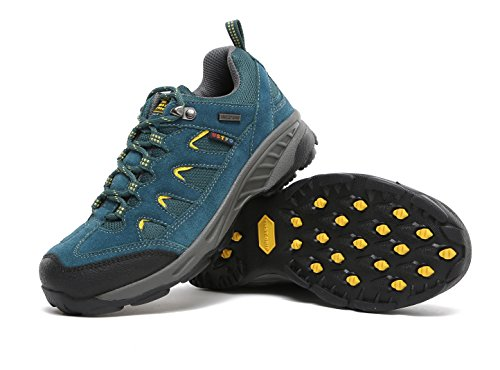 THE FIRST OUTDOOR Women's Breathable Low Waterproof Shock Absorb Hiking Shoes US 8.5