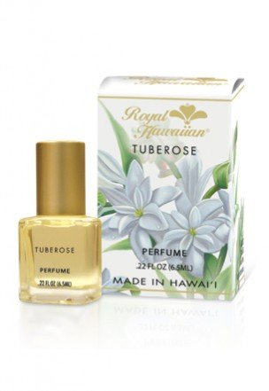 Royal Hawaiian Tuberose Perfume - 0.22 fl. - The Royal Center Hawaiian