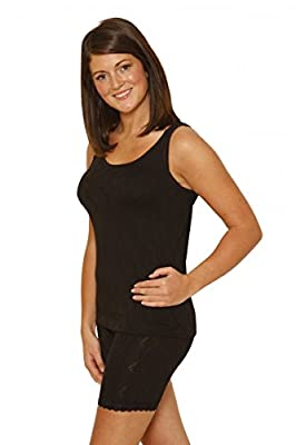 Octave 2 Pack Womens Thermal Underwear Sleeveless Vest/T-Shirt/Top