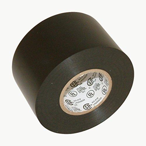 J.V. Converting EL7566-AW/BLK222 JVCC EL7566-AW Premium Grade Electrical Tape, 66' Length x 2