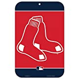 MLB Boston Red Sox Logo Sign, 11 x 17-inches