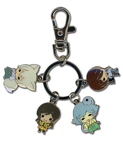 SD Group Metal Keychain! Authentic Kamisama Kiss