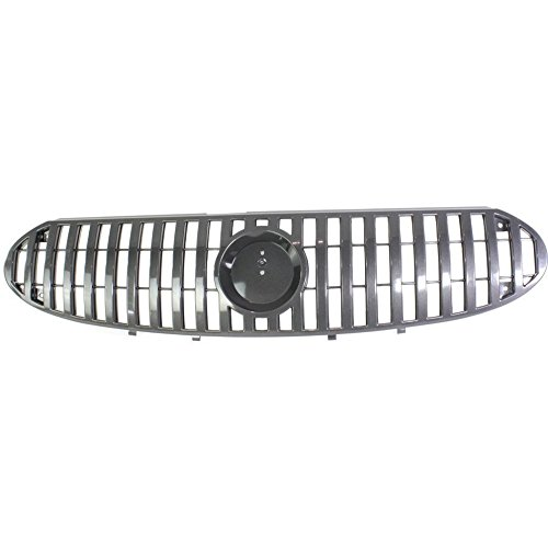 DAT AUTO PARTS Grille Replacement for 02-05 Buick Rendezvous Black and Silver Grill GM1200485