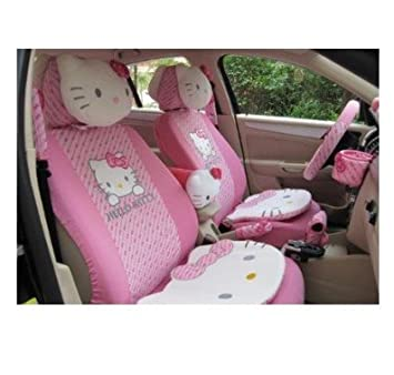 29 pcs Hello Kitty Butterfly Pattern Auto avant de voiture