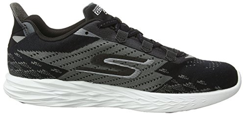 5 Run Outdoor Nero Scarpe Go Uomo White Skechers Sportive Black qBfER5w