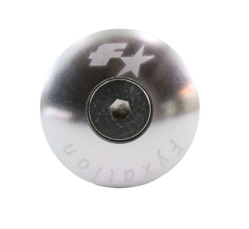 Fyxation Bar End Plugs, Silver