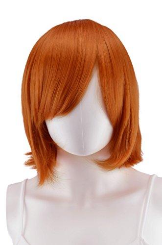 Epic Cosplay Chronos Autumn Orange Cosplay Wig 14 Inches (02AO)
