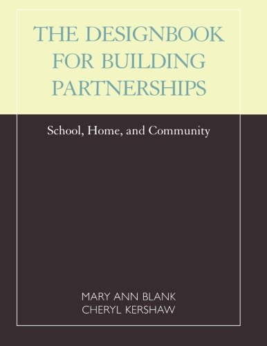 Designbook for Building Partnerships: School, Home, and Community