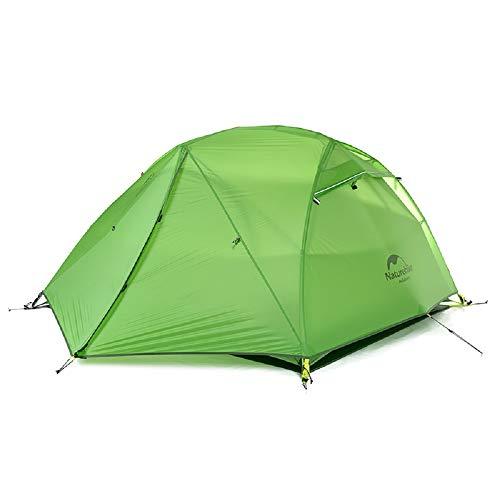 吸収剤協定ラベ無料マットNH17T012-Tでスターリバーキャンプのテントアップグレード超軽量2人4シーズンテント