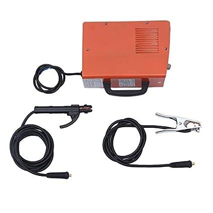 Wenwenzui-ES ARC-200 portátil Toda la soldadora eléctrica Miniatura del hogar de Cobre