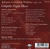 Walther: Complete Organ Music [Box Set]