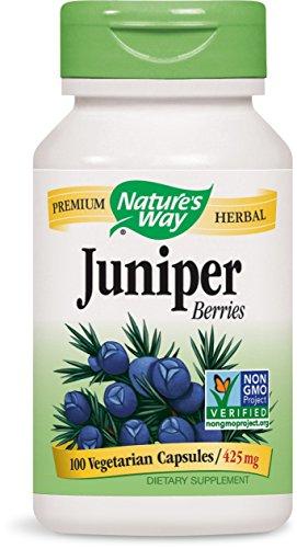 Juniper Capsules Berries 100 - Nature's Way - Juniper Berries, 425 mg, 100 capsules