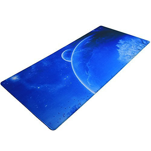 yekong Gaming Mouse Pad XL con baja fricción Tracking superficie & Goma Antideslizante grip – Funciona con World Of...