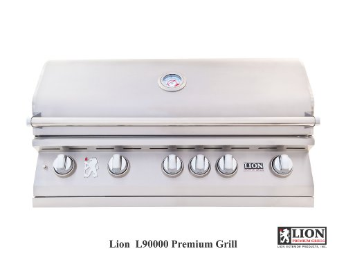 Lion Premium Grills 40 Inch Built in Gas Grill Natural Gas L90823 by Lion Premium Grills