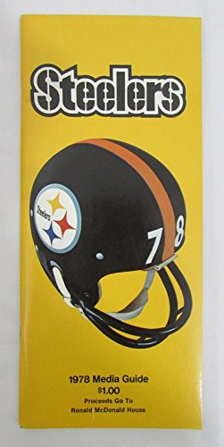 1978 Official Pittsburgh Steelers Media Guide 131452 at Amazon's