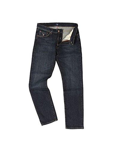 Blu Uomo Da Jeans Gant Tasche 5 TqOOvH