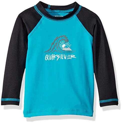 Quiksilver Boys Bubble Dream Long Sleeve Baby Rashguard, Typhoon, ()