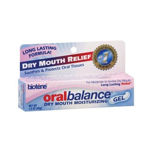 Biotene Oralbalance Mouth Moisturizing Gel -- 1.5 oz (Pack of 3) by Biotene